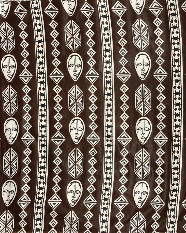 Real Wax - African Fabric Kampala Brown - Tissushop