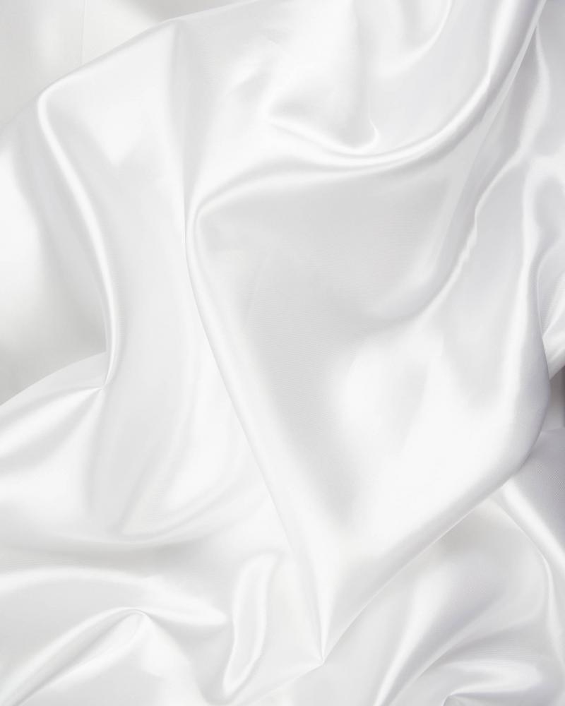 Satin Uni Blanc - Tissushop