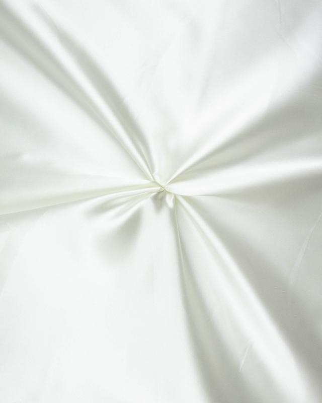 Plain Satin Ivory - Tissushop