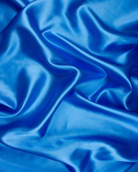 Plain Satin Turquoise Blue - Tissushop