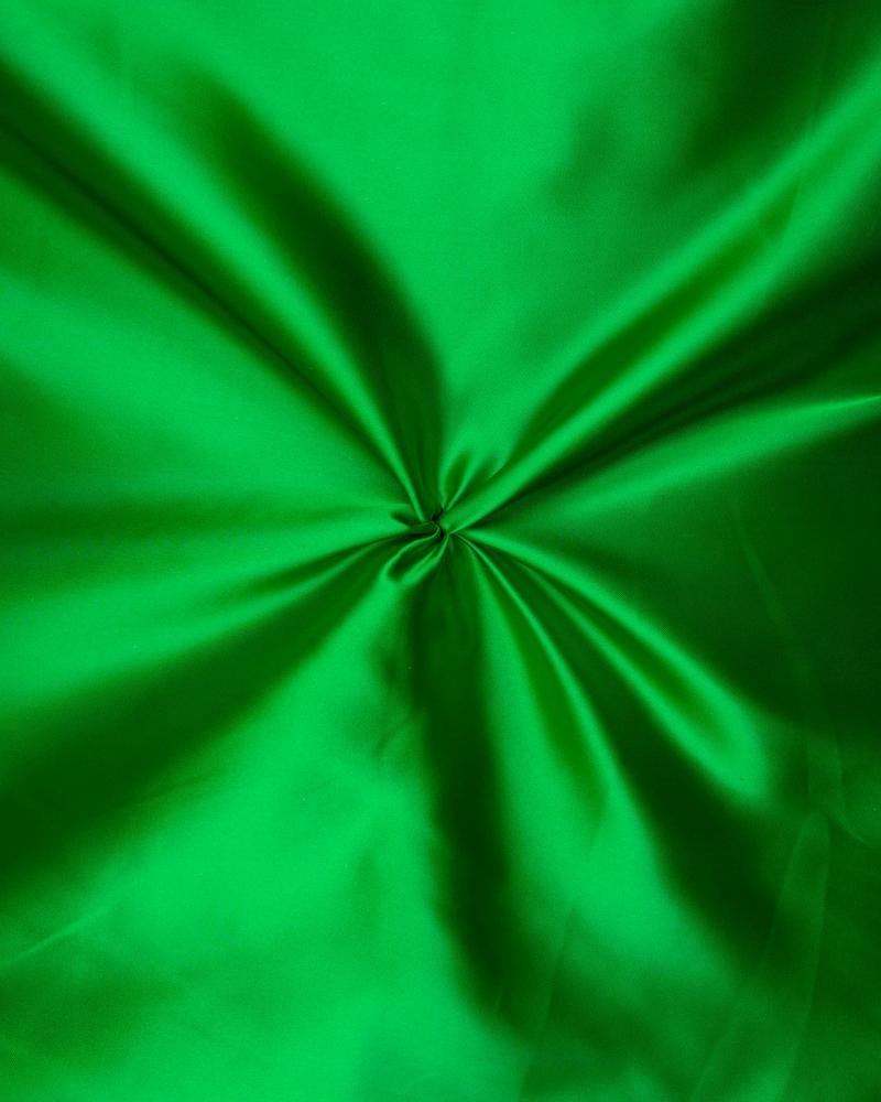 Satin Uni Vert - Tissushop