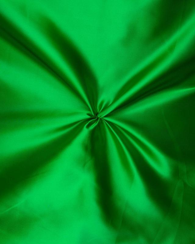 Plain Satin Green - Tissushop