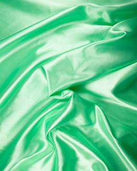 Satin Uni Vert Pistache - Tissushop