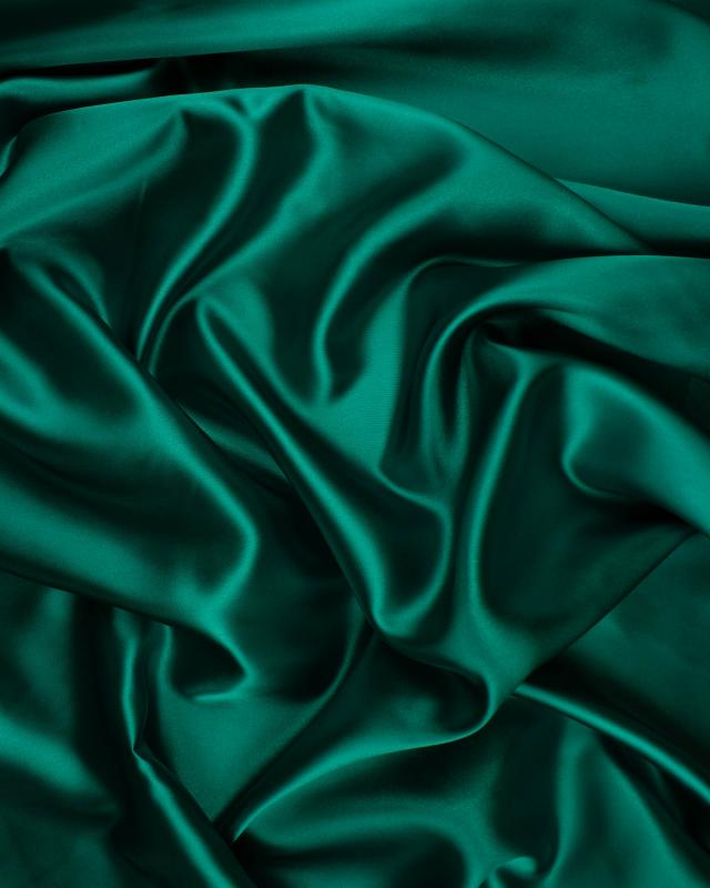 Plain Satin Dark Green - Tissushop