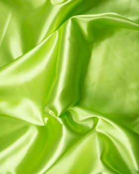 Plain Satin Spring Green - Tissushop