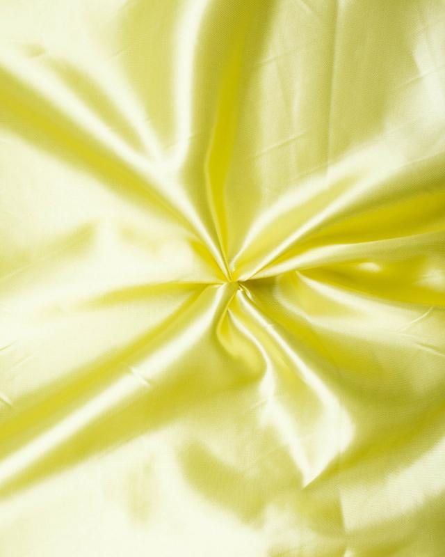 Plain Satin Light Yellow - Tissushop
