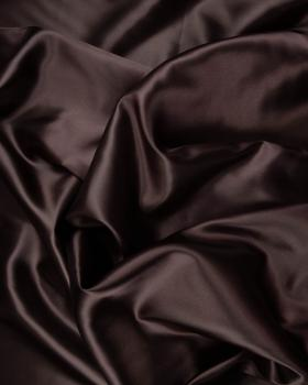 Plain Satin Chocolate - Tissushop