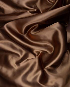 Satin Uni Marron - Tissushop