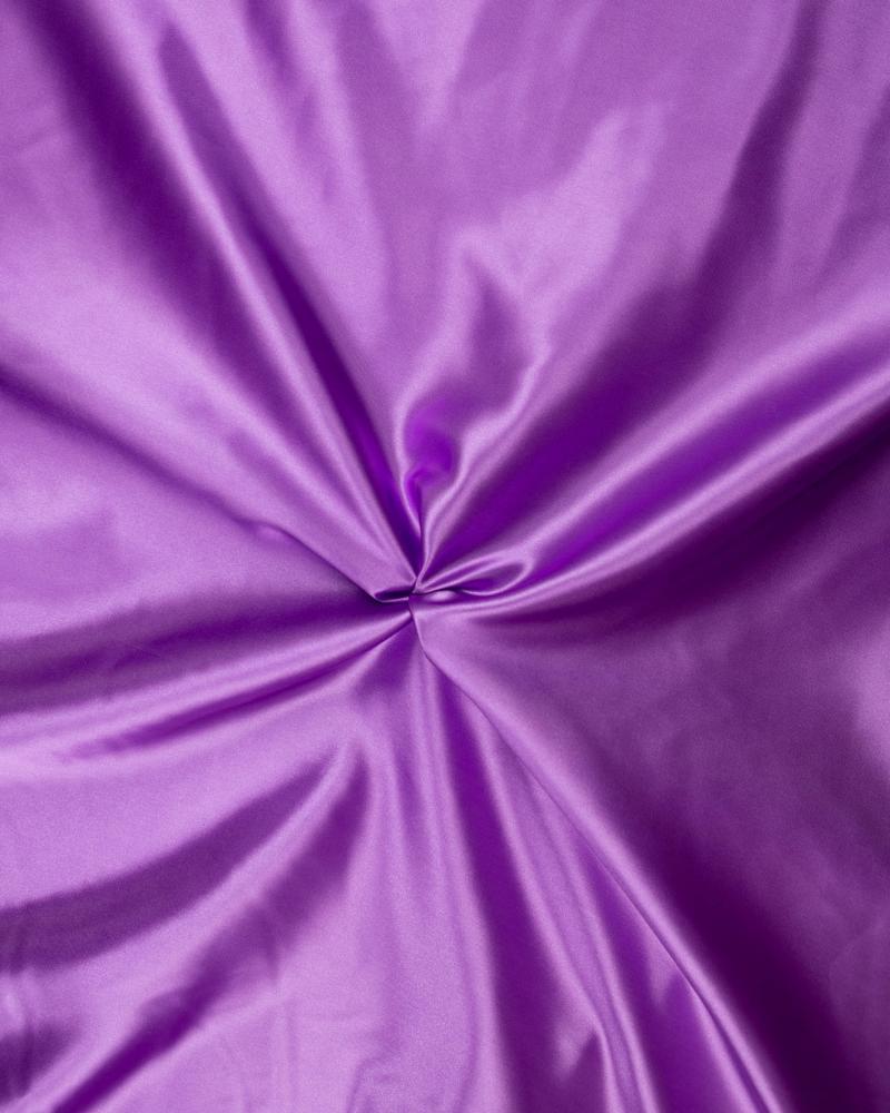 Satin Uni Violet - Tissushop