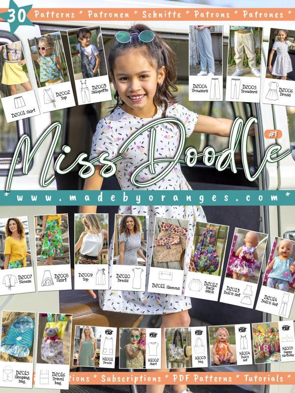 Miss Doodle Spring-Summer 2020 Catalog - Tissushop