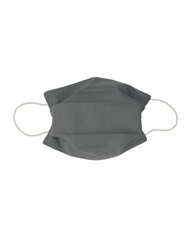 Kit for DIY 21 barrier masks - Cotton color Grey - Tissushop
