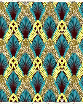 Super Wax - African Bouaké Fabric - Tissushop