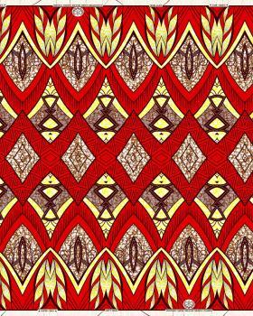 Super Wax - African Nakuru Fabric - Tissushop