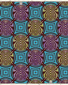 Super Wax - African Luxor Fabric - Tissushop