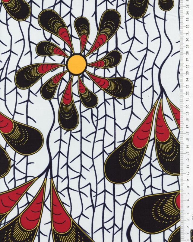 Super Wax - Tissu African Casablanca - Tissushop