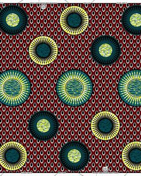 Super Wax - African Constantine Fabric - Tissushop