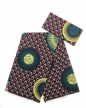 Super Wax - Tissu African Constantine - Tissushop