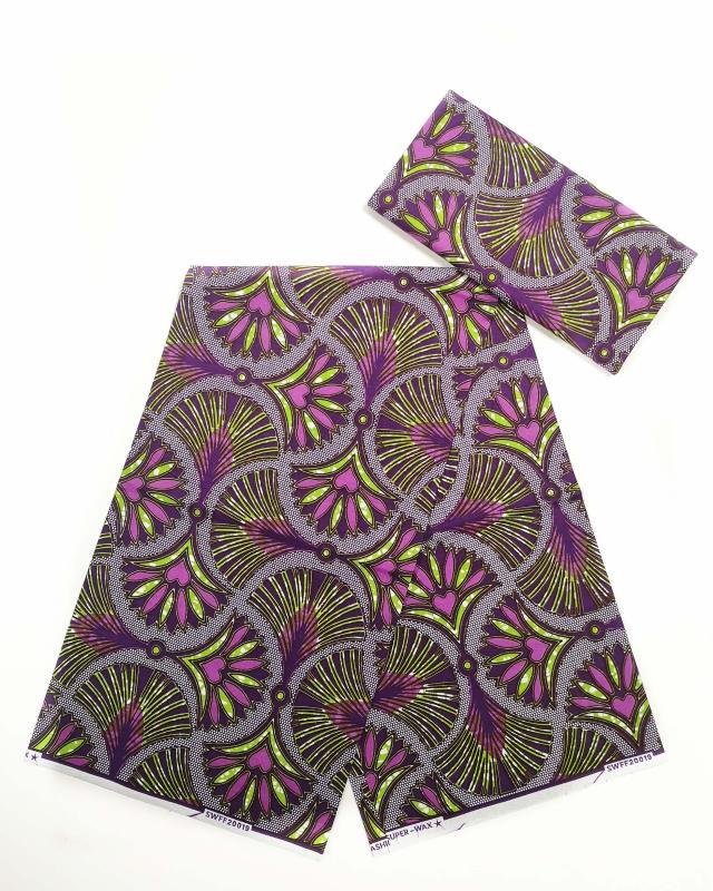 Super Wax - African Niamey Fabric - Tissushop