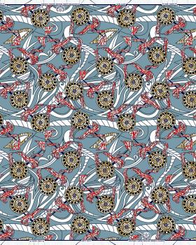 Super Wax - African Pretoria Fabric - Tissushop