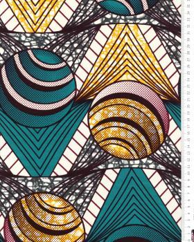 Super Wax - Tissu African Lomé - Tissushop