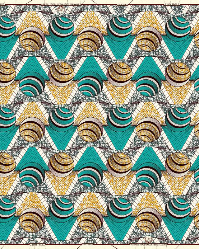 Super Wax - African Lomé Fabric - Tissushop