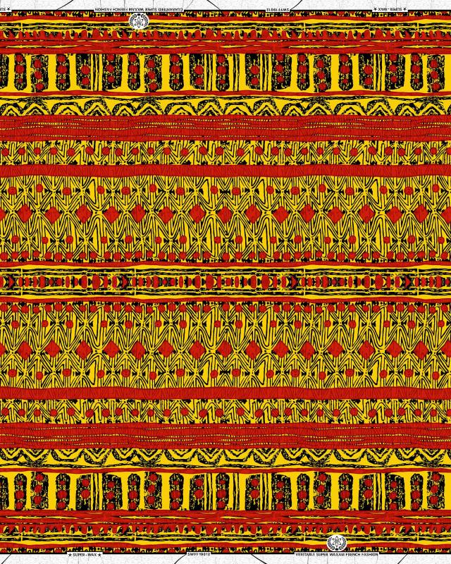 Super Wax - African Yaoundé Fabric - Tissushop
