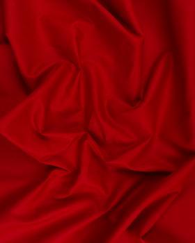 Poplin dyed cotton Vermillon - Tissushop