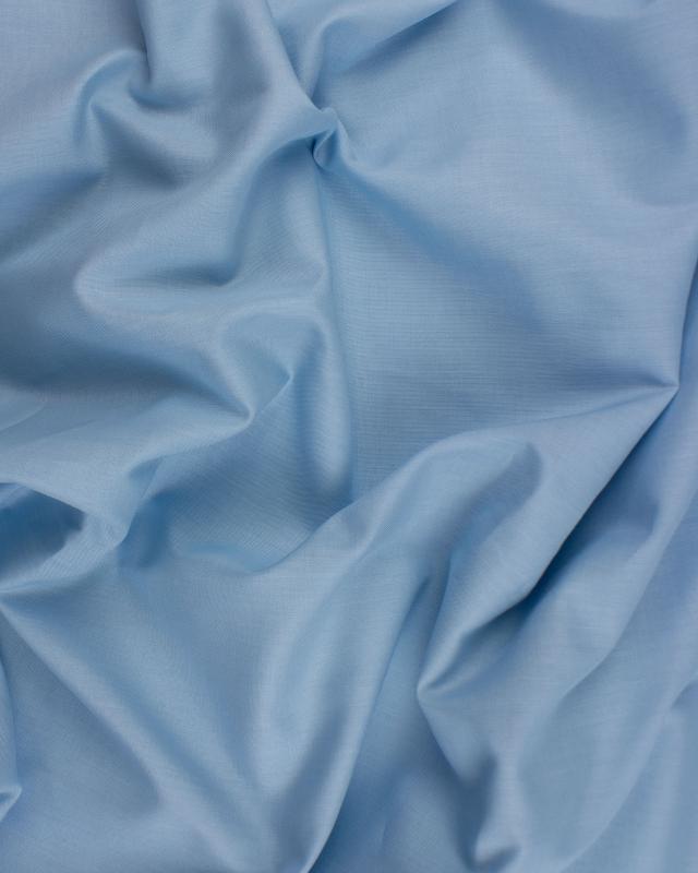 Poplin dyed cotton Light Blue - Tissushop