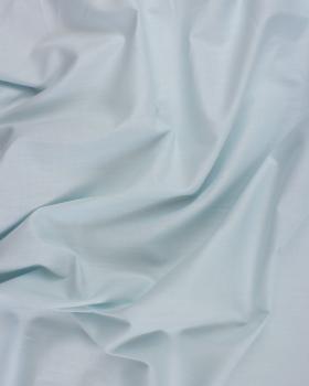 Popeline de coton uni Bleu Nuage - Tissushop