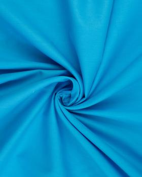 Poplin dyed cotton Turquoise Blue - Tissushop