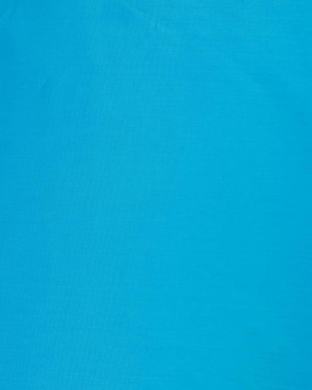 Poplin dyed cotton Turquoise Blue - Tissushop