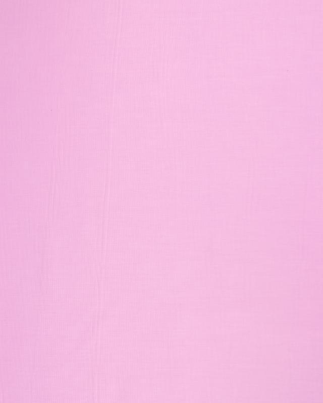 Poplin dyed cotton Pink - Tissushop