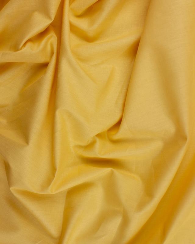 popeline de coton uni Moutarde - Tissushop