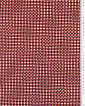 Cotton poplin Polar Red - Tissushop