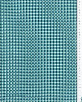 Cotton poplin Polar Green - Tissushop