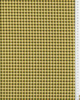 Cotton poplin Polar Mustard - Tissushop