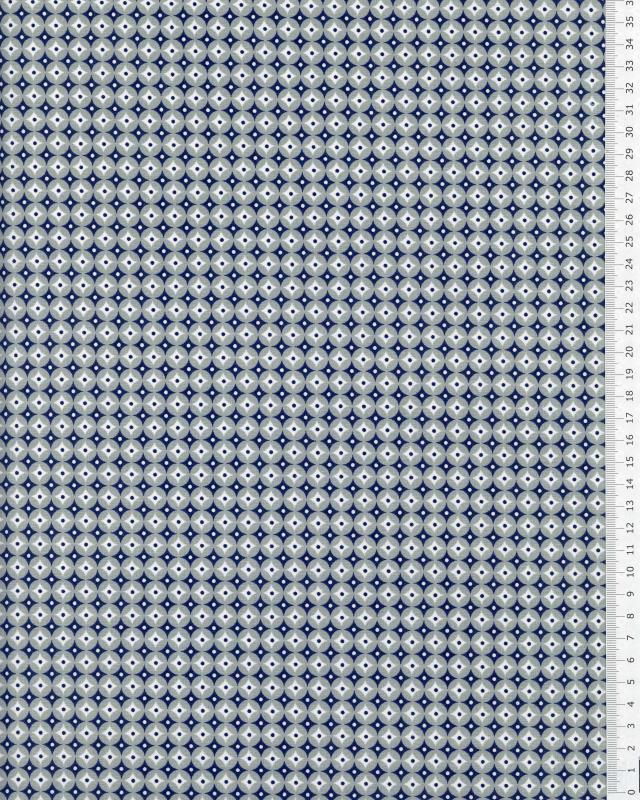 Popeline de coton Polar Gris - Tissushop
