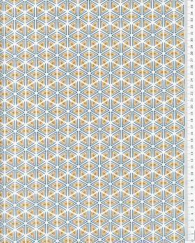 Cotton poplin Tripoli Mustard - Tissushop