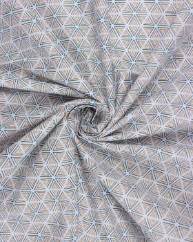 Cotton poplin Tripoli Light Grey - Tissushop