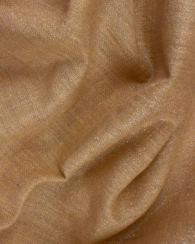 Silver lurex burlap - 290 gr / m² - 130 cm - Natural - Tissushop