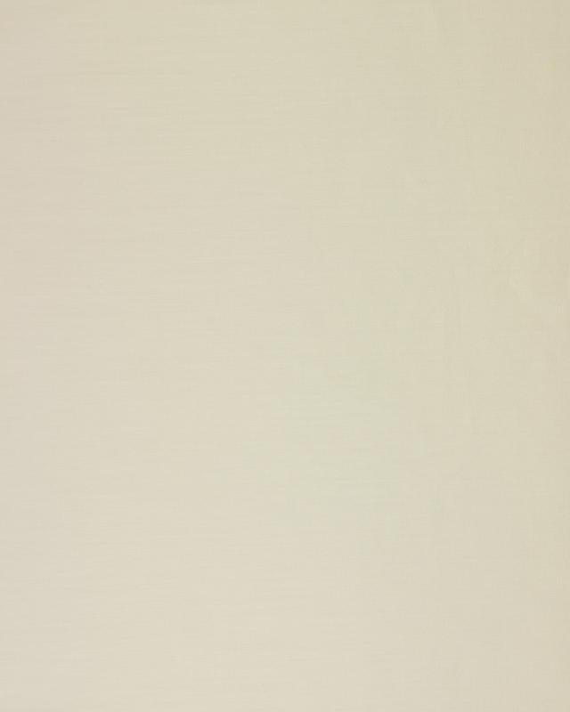 Popeline 120 FILS - 100% Coton Uni Ivoire - Tissushop