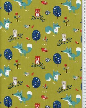 Cotton Poplin - Choubois Spring Green - Tissushop