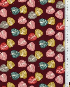Cotton Poplin - Cories Aubergine - Tissushop