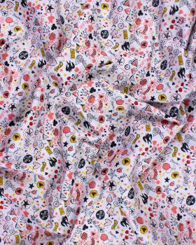 Cotton poplin - Tag love - Tissushop