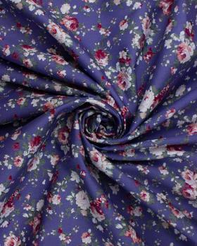 Popeline de coton - Ines Bleu - Tissushop