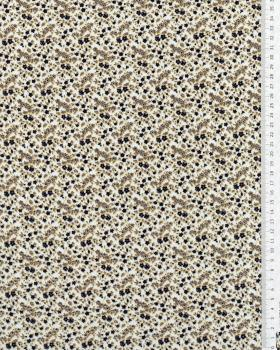 Cotton poplin - Cassandre Black - Tissushop