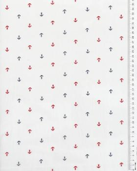Cotton poplin - Anchor White - Tissushop