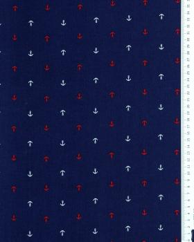 Cotton poplin - Anchor Navy Blue - Tissushop