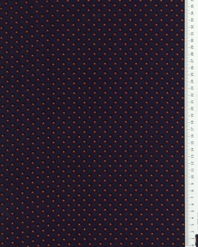 Popeline de coton - Pallini Bleu - Tissushop