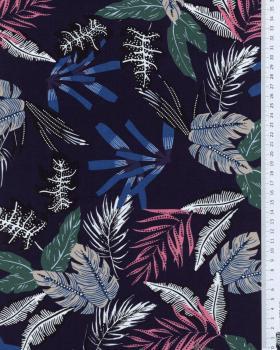 Cotton poplin - Maelys Navy Blue - Tissushop